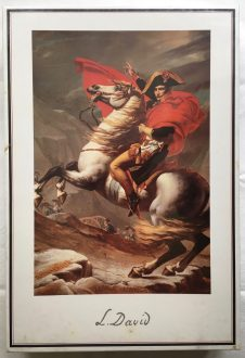 Image of the puzzle 1500, Central Hobby, Napoleon Crossing the Alps, Jacques-Louis David, Factory Sealed
