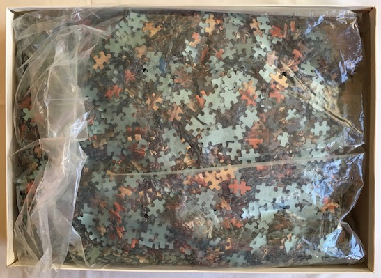 Image of the puzzle 6000, Schmidt, The Battle of Lepanto, Sealed Bag, Picture of the bag
