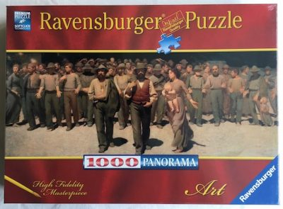 Image of the puzzle 1000, Ravensburger, The Fourth State, Giuseppe Pellizza da Volpedo, Factory Sealed