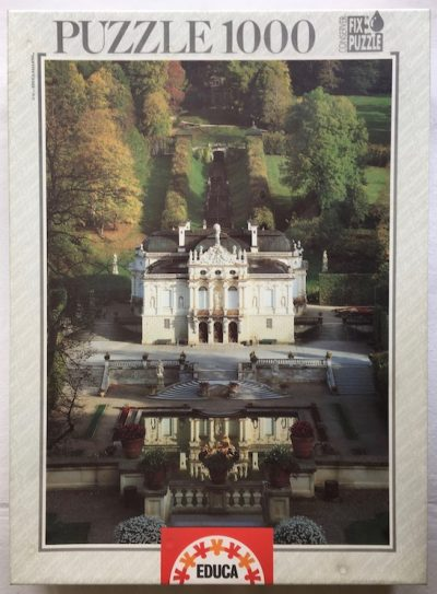 Image of the puzzle 1000, Educa, The Castle of Linderhof, Germany, Factory Sealed