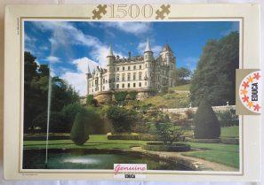 Image of the puzzle 1500, Educa, Dunrobin Castle, Scotland, by Edmund Nägele, Factory Sealed