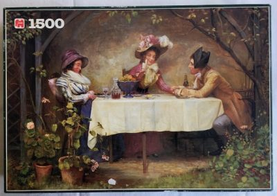 Image of the puzzle 1500, Jumbo, Mother has Fallen Asleep, Delapoer Downing, Complete, Picture of the box