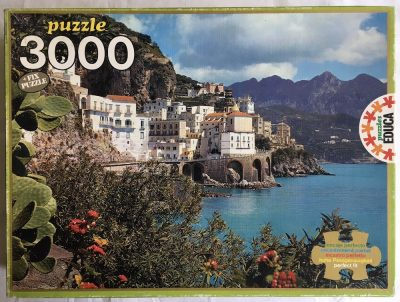 Image of the puzzle 3000, Educa, Atrani, Italy, Complete, Picture of the box