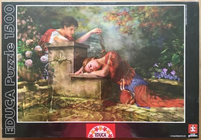 Image of the puzzle 1500, Educa, While She was Sleeping, Drazenka Kimpel, Factory Sealed