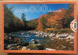 500, Educa, Autumn Landscape, Complete, Picture of the Box