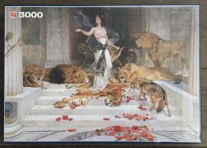 Image of the Puzzle 3000, Jumbo, Circe as Animal Queen, Factory Sealed, Picture of the Box