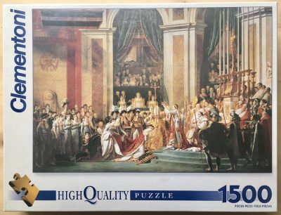 Image of the puzzle 1500, Clementoni, The Coronation of Napoleon, by Jacques-Louis David, Factory Sealed
