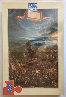 Image of the Puzzle 1500, F.X. Schmid, The Battle of Alexander, Factory Sealed