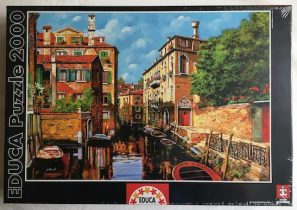 Image of the Puzzle 2000, Educa, Light in Venice, Factory Sealed