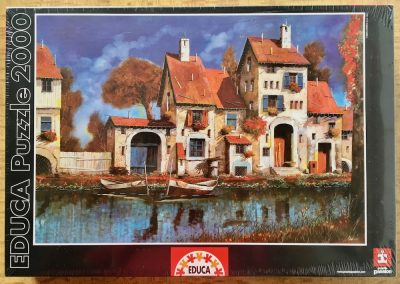 2000, Educa, The Farmhouse on the Lake, by Guido Borelli, Factory Sealed