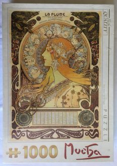 Image of the puzzle 1000, D-Toys, Zodiac, by Alphonse Mucha, Factory Sealed