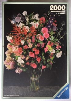 Image of the puzzle 2000, Ravensburger, Summer Flowers, Complete, Picture of the box