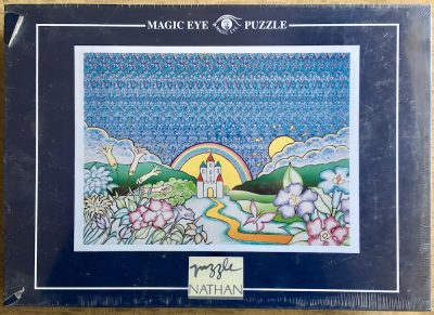 Image of the puzzle 1000, Nathan, In Fairyland (Magic Eye Collection), Factory Sealed, Picture of the box