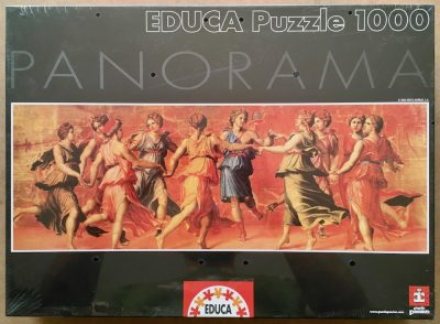 Image of the puzzle 1000, Educa, Dance of Apollo with the Muses, by Giulio Romano, Factory Sealed
