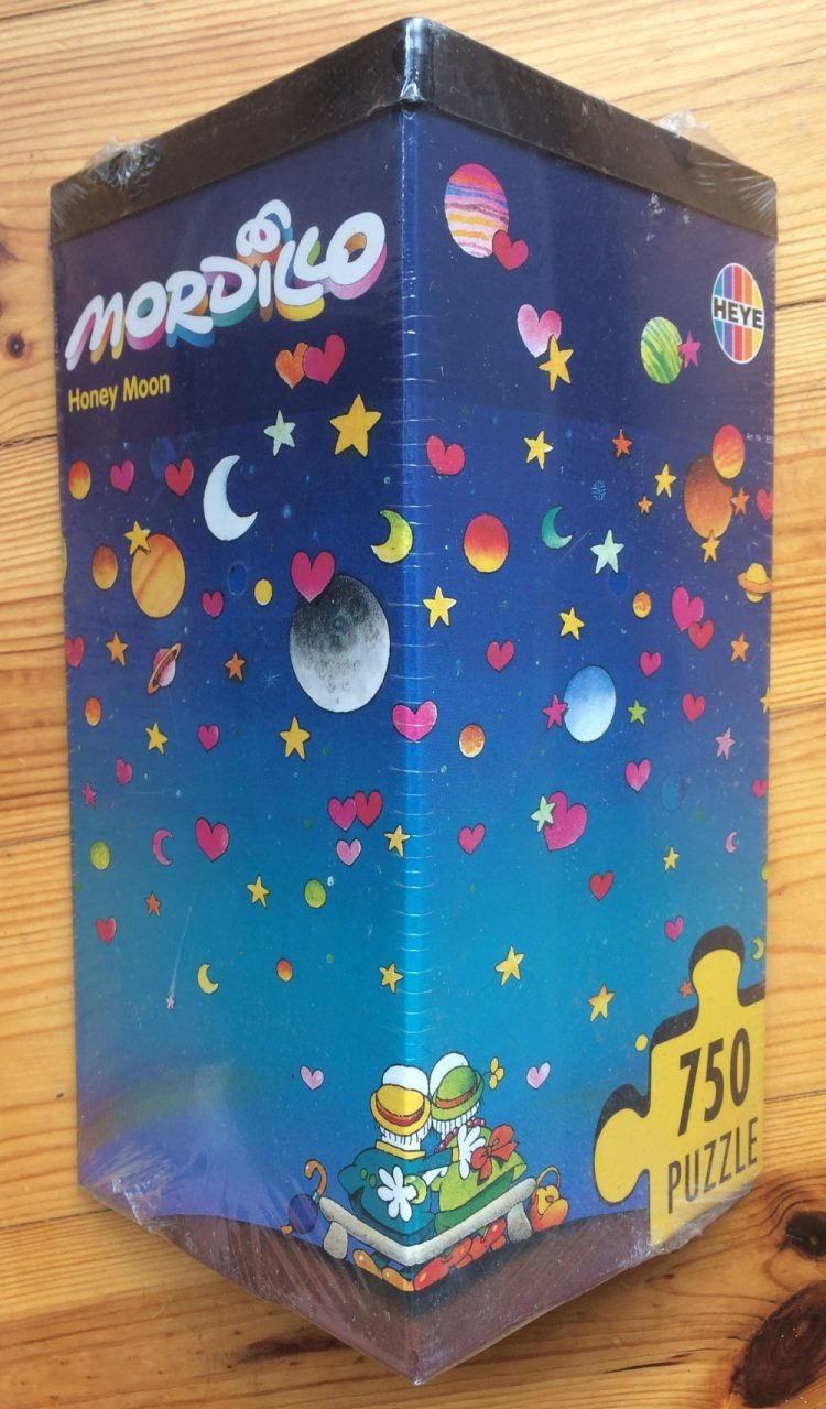 Image of the puzzle 750, Heye, Honey Moon, by Guillermo Mordillo, Factory Sealed