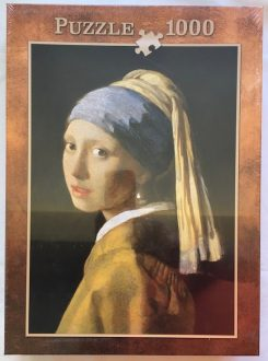 Image of the puzzle 1000, Innovakids, Girl with a Pearl Earring, Johannes Vermeer, Factory Sealed