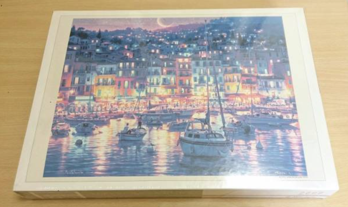 Image of a 2000 pieces puzzle that reached 100000 yens in recent auctions in Japan