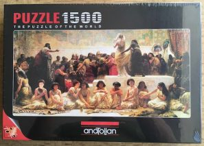 Image of the Puzzle 1500, Anatolian, The Babylonian Marriage Market, Factory Sealed