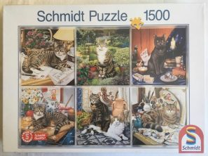 Image of the Puzzle 1500, Schmidt, Velvet Paws, Factory Sealed