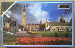 Image of the Puzzle 5000, Falcon, Houses of Parliament