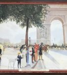 Image of the puzzle 1000, Waddingtons, A Sunny Afternoon near the Arc de Triomphe, Picture of the box