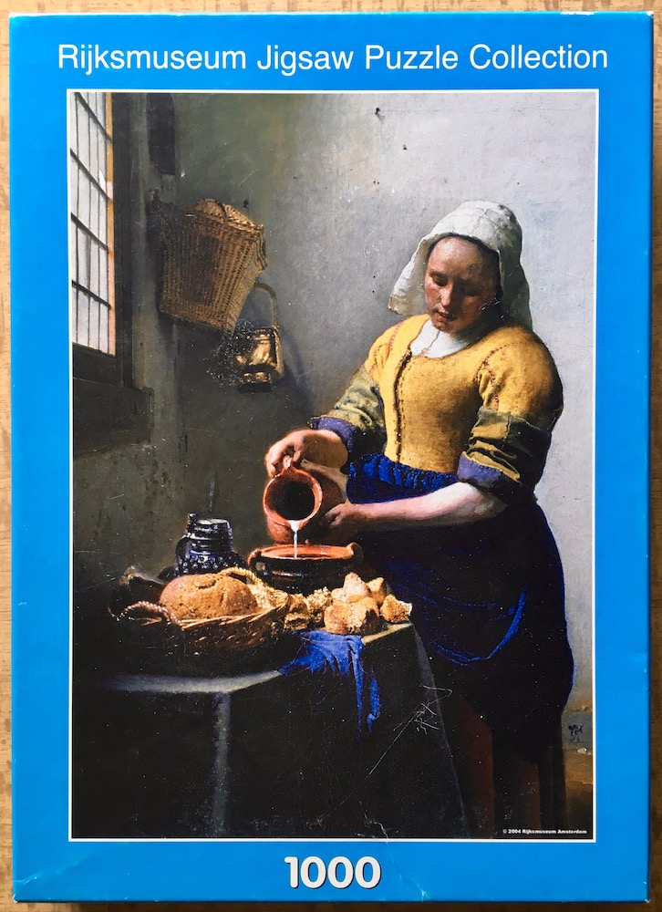 Image of the puzzle 1000, Puzzelman, The Milkmaid, by Johannes Vermeer, Picture