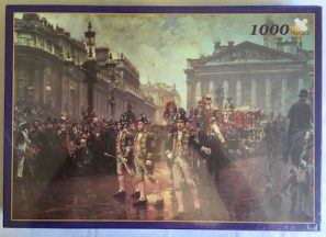 Image of the Puzzle 1000, Diamond, Sir James Whitened Procession, Factory Sealed