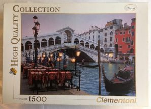 Image of the Puzzle 1500, Clementoni, Venice, Sealed Bag, Picture of the Box