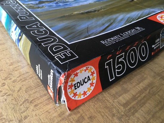 Image of the Puzzle 1500, Educa, Momentum, Sealed Bag, Picture of the Box