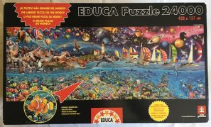 Image of the Puzzle 24000, Educa, Life, The Greatest Puzzle, Sealed Bag, Picture of the Box