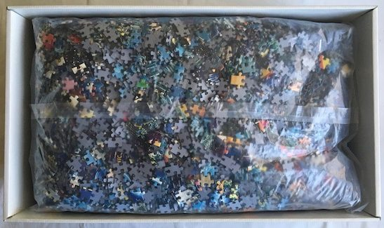 Image of the Puzzle 24000, Educa, Life, The Greatest Puzzle, Sealed Bag, Picture of the Bag