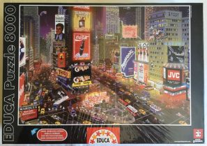 Image of Puzzle 8000, Educa, An Evening in Times Square, Factory Sealed