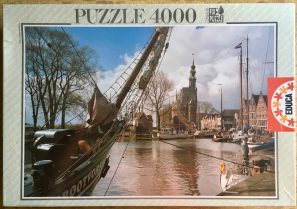 Image of the puzzle 4000, Educa, Holland, Factory Sealed