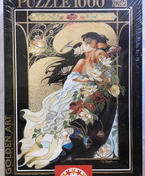 Image of the Puzzle 1000, Educa, Romantic Couple, Factory Sealed