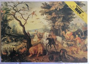 Image of the Puzzle Puzzle 1000, Flamenco, Noah Ark, Complete, Picture of the Box