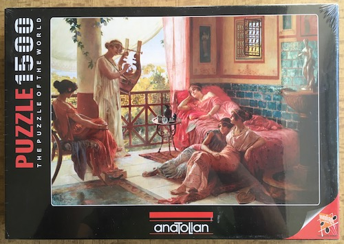 Image of the Puzzle 1500, Anatolian, The Lyre Player, Factory Sealed