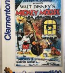 Image of the Puzzle 1500, Clementoni, Mickeys Good Deed, Sealed Bag, Picture of the Box
