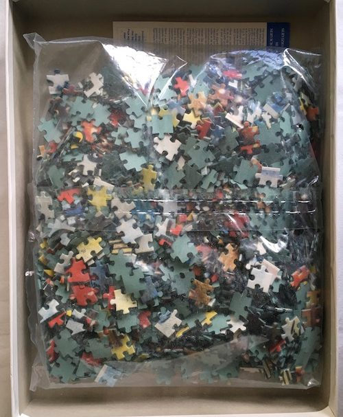 Image of the Puzzle 1500, Clementoni, Mickeys Good Deed, Sealed Bag, Picture of the Bag