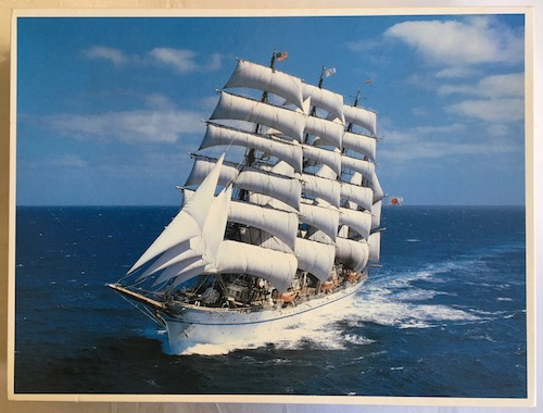 Image of the Puzzle 3000, Central Hobby, Nippon Maru Ship, Sealed Bag, Picture of the Box