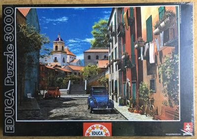 Image of the Puzzle 3000, Educa, Mediterranean Morning, Factory Sealed