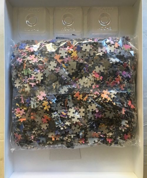 Image of the Puzzle 3000, Epoch, Sakura, by Haruyo Morita, Sealed Bag, Picture of the Bag