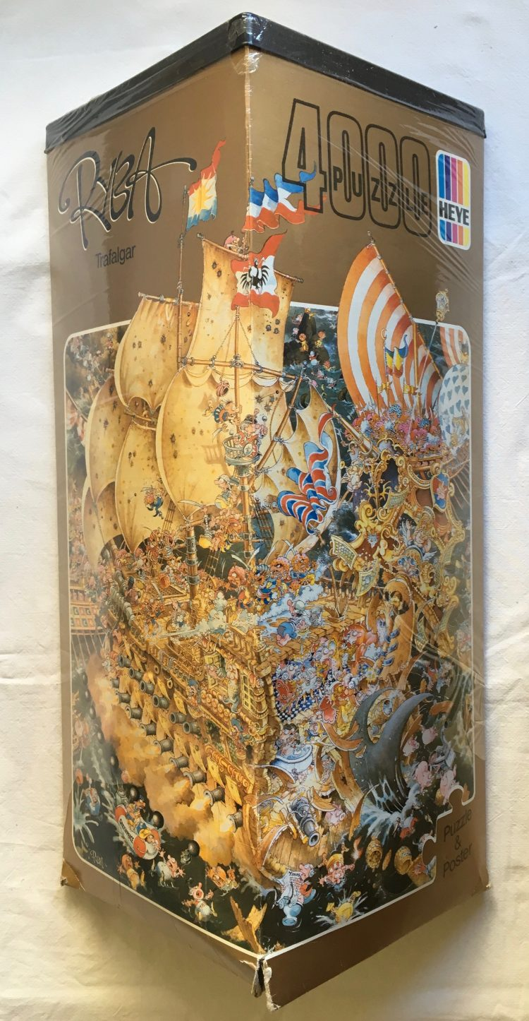 Image of the puzzle 4000, Heye, Trafalgar, Factory Sealed, Picture of the Box