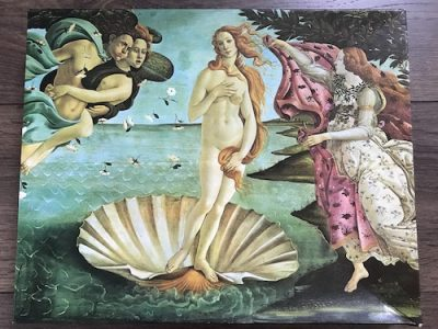 Image of the Puzzle 450, Waddington, The Birth of Venus, Complete, Picture of the Box