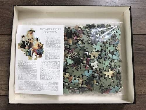 Image of the Puzzle 450, Waddington, The Birth of Venus, Complete, Picture of the Bag