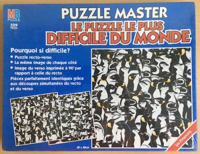 Image of the Puzzle 500, MB, The Penguins, Factory Sealed