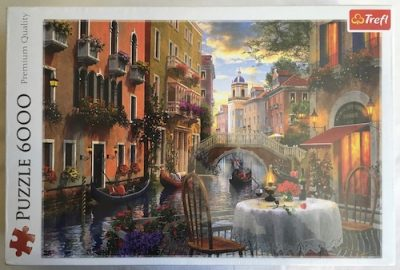 Image of the Puzzle 6000, Trefl, Romantic Supper, Factory Sealed