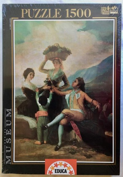 Image of the puzzle 1500, Educa, The Grape Harvest, by Francisco de Goya, Factory Sealed