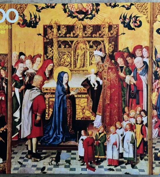 Image of the Puzzle 3000, Ravensburger, The Adoration of the Magi, Sealed Bag, Picture of the Box