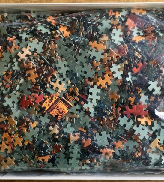 Image of the Puzzle 3000, Ravensburger, The Adoration of the Magi, Sealed Bag, Picture of the Bag