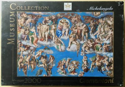Image of the puzzle 3000, Clementoni, Universal Judgement, by Michelangelo, Factory Sealed